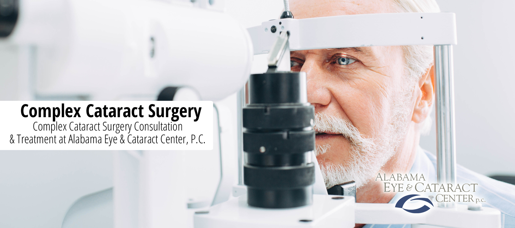 Complex Cataract Surgery Header Image